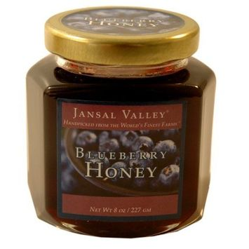 Jansal Valley Blueberry Infused Honey, 8 Ounce