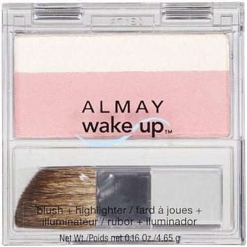 Almay Wake-Up Blush & Highlighter-Pink-010 by Almay