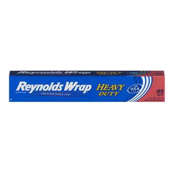 (2 pack) Reynolds Wrap Heavy Duty Aluminum Foil (95 Square Foot Roll)