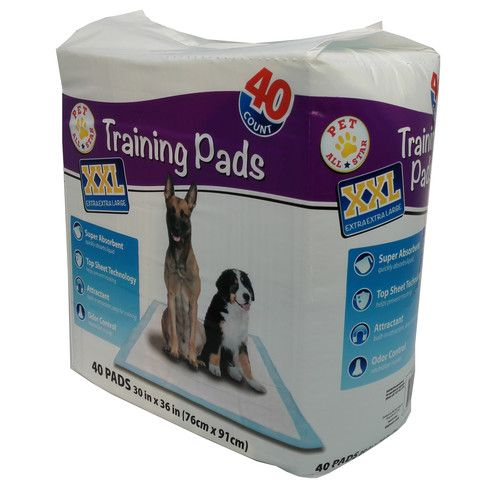"Pet All Star Dog Training Pads, XXL, 30"" x 36"", 40 Count"