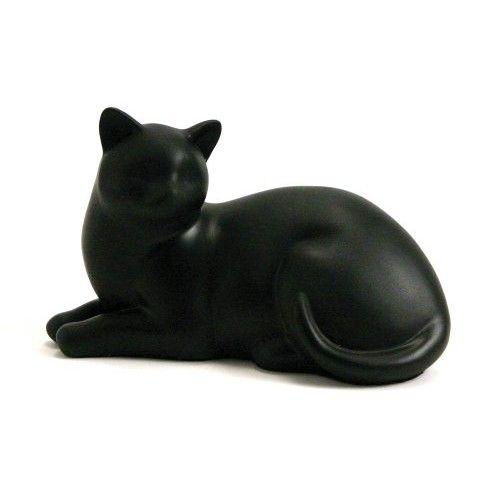 Near & Dear Pet Memorials Elite Cat Resin Cremation Urn [Reclining]