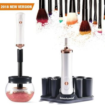 SMARTWOOD Makeup Brush Cleaner, Spinning Electric Makeup Brush Cleaner Machine