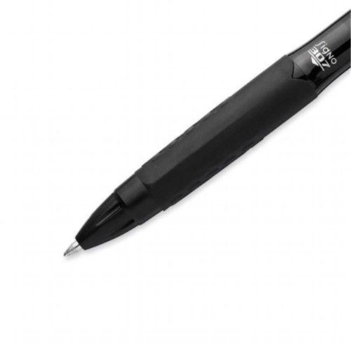 Sharpie 1928990 Uni-Ball 307 Black Gel Pen Pack of 6