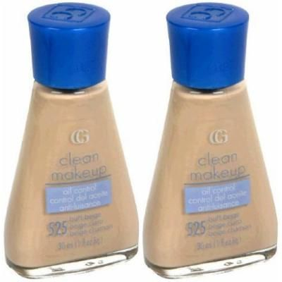 BY CG CoverGirl Clean Makeup Oil Control Foundation #525 Buff Beige (PACK Of 2)