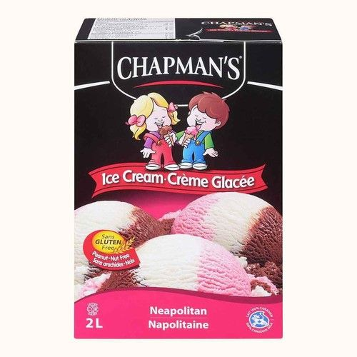 Chapman's Original Ice Cream Neapolitan