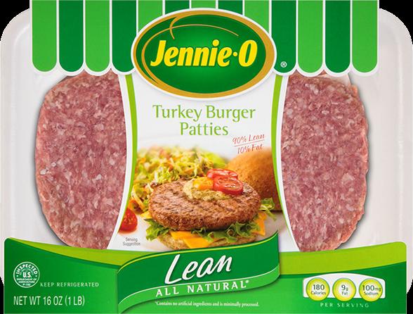 Jennie-O Turkey Store Turkey Patties Traypack