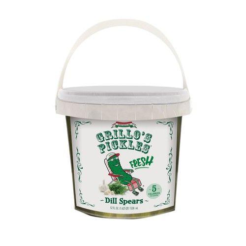 Grillo's Pickles Italian Fresh Dill Spears, 52 fl. oz.