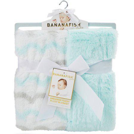 Bananafish Studio Fuzzy Blanket, Neutral