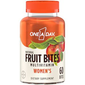 One A Day Women's Fruit Bites Multivitamin