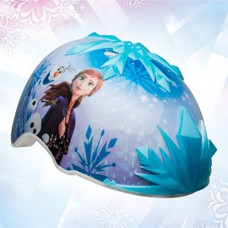Bell Disney Frozen 2 3D Snowflakes Multisport Helmet, Child 5+ (50-52 cm)