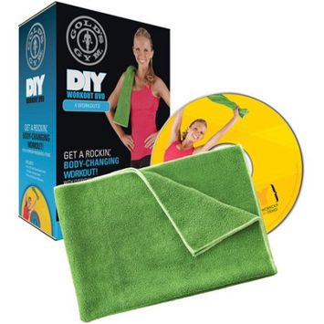 Icon Health And Fitness, Inc. Gold's Gym DIY Workout DVD Kit