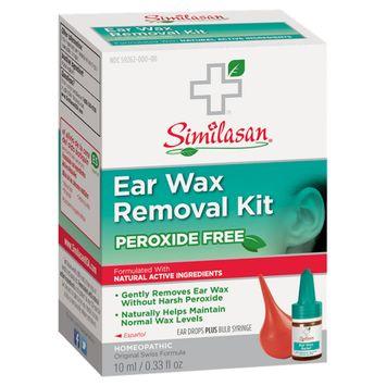 Similasan Peroxide Free Ear Wax Removal Kit