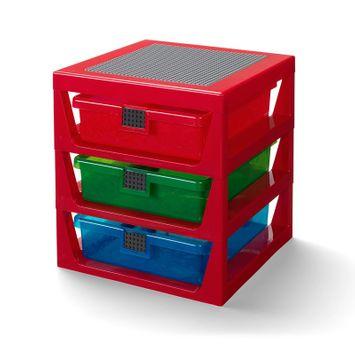 LEGO® Transparent Rack System