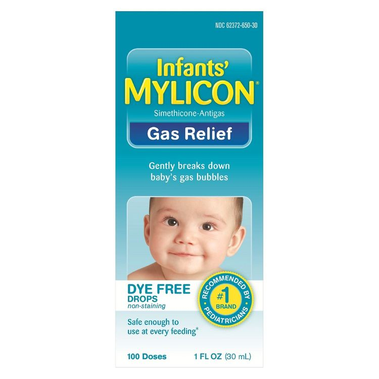 Infants' Mylicon® Gas Relief Dye-Free Formula