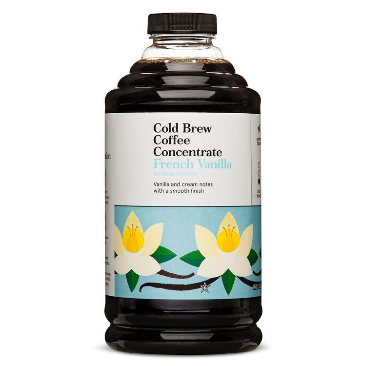 Cold Brew French Vanilla Coffee Concentrate 32fl oz - Archer Farms