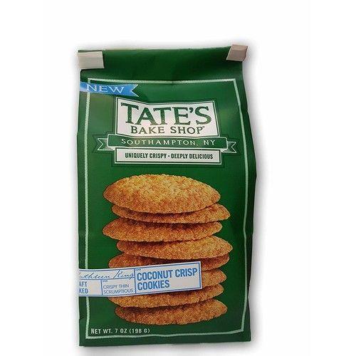 TATES BAKE SHOP Coconut Crisp Cookies, 7 OZ (2)