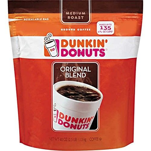 Dunkin' Donuts Coffee, Original Blend, Value Siize 1 Pack aql( 40 Ounce )