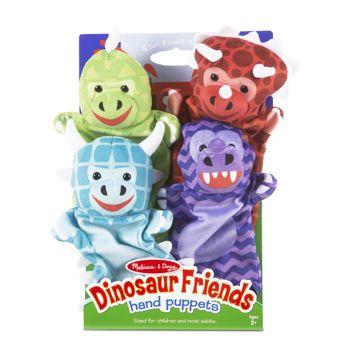 Melissa & Doug - 9085   Dinosaur Friends Hand Puppets