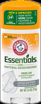 ARM & HAMMER™ Essentials™ Solid Deodorant, Unscented