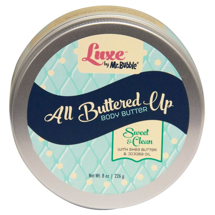 Luxe by Mr. Bubble Sweet & Clean All Buttered Up Body Butter 8 oz