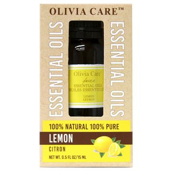 Olivia Care 100% Pure Lemon Essential Oil 15ml