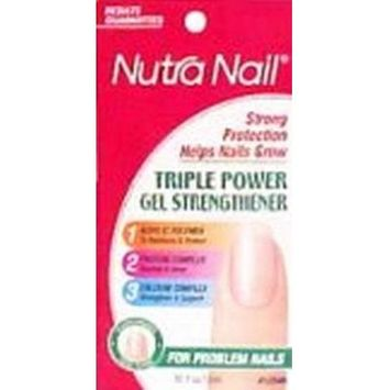 Nutra Nail Triple Power Gel Strengthener (3-Pack)