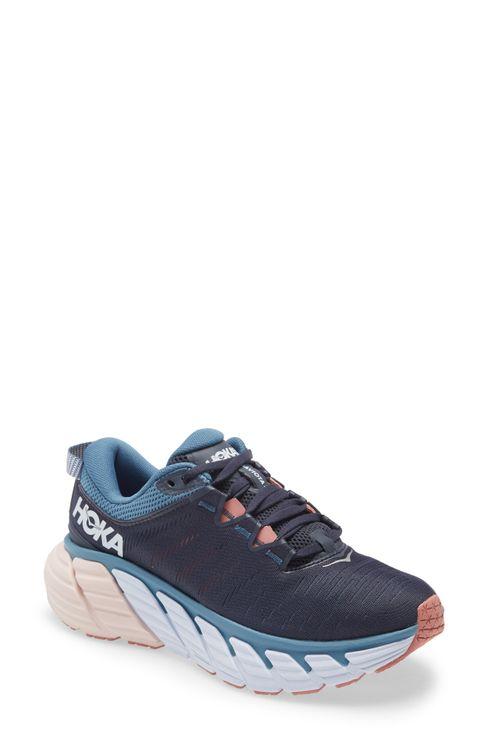 Women's Hoka One One Gaviota 3 Running Shoe, Size 7.5 M - Blue