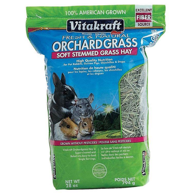 VitaKraft Orchard Grass Soft Stemmed Grass Hay: 28 oz