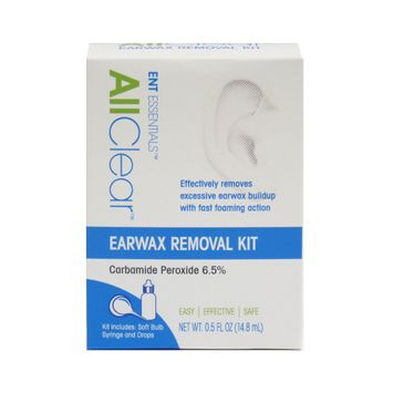 Ent Essentials All Clear Earwax Removal Kit - 0.5oz