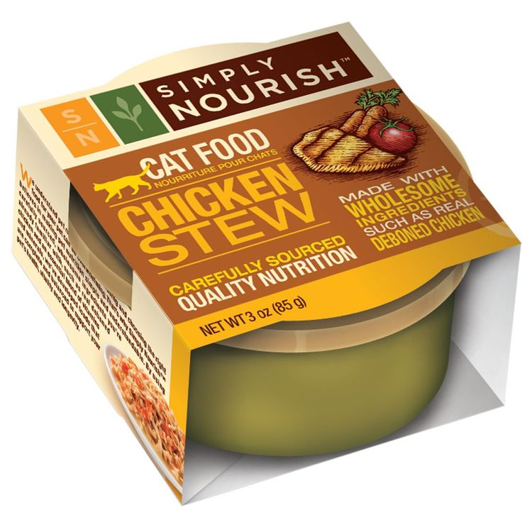 Simply Nourish Chicken Stew Canned Cat Food