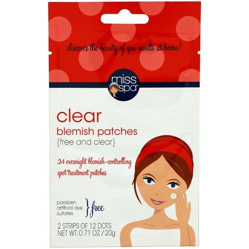 Miss Spa Clear Blemish Patches - 12ct