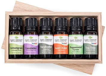 Top 6 Essential Oil Sampler Set. Includes 100% Pure