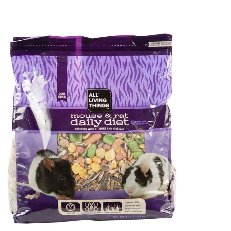 All Living Things Daily Diet Mouse and Rat Food