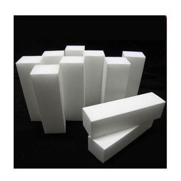 10PCS White Nail Art Buffer File Block Pedicure Manicure Buffer Sanding Tip Set
