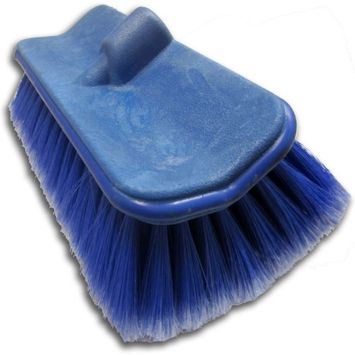 Ettore Brooms & Mops Water Flow Thru Large Flo-Brush for Extend-A-Flo Wash Brush Handle 59080