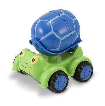 Melissa & Doug - 6271   Sunny Patch: Scootin' Turtle Cement Mixer