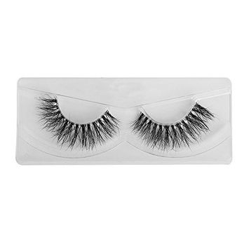 1 Pair Invisible Band 3D Multilayer False Eyelashes Thick Long Wispy Lashes Beauty Makeup Tool