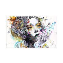Impressions sur toile modernes oeuvre peinture tableau photo art décor art fille