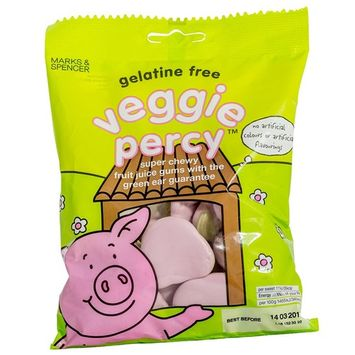 Marks & Spencer | Percy Pigs - Veggie Percy | 4 x 170g Bags