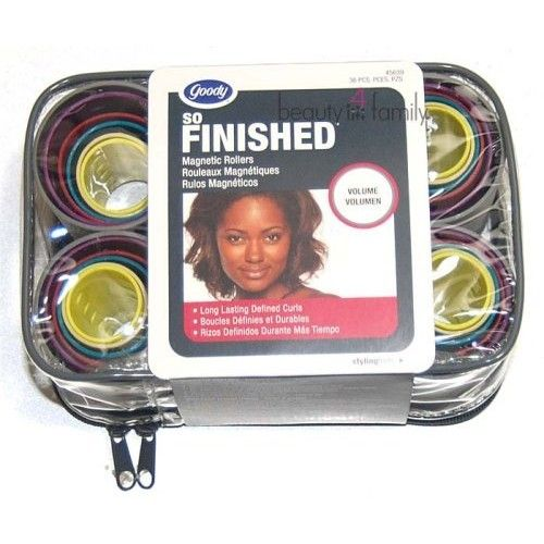 Goody Mosaic Magnetic Hair Rollers - 36 Pcs.