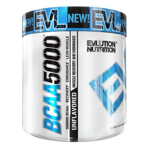 EVLution Nutrition, BCAA 5000, Unflavored , 10.6 oz (300 g) [Flavor : Unflavored]