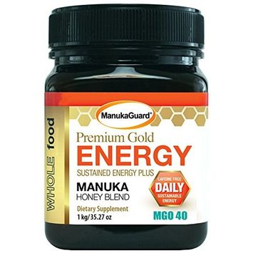 MANUKAGUARD Energy Blend + Manuka Honey, 0.02 Pound