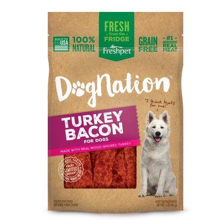 Freshpet® Dognation® TURKEY BACON DOG TREATS