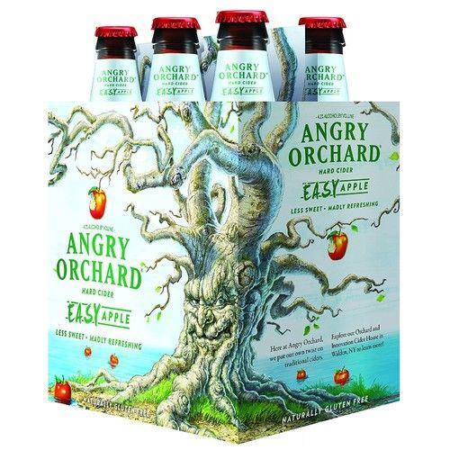 Angry Orchard Easy Apple Hard Cider, 6 pk, 12 oz bottles, 5% ABV