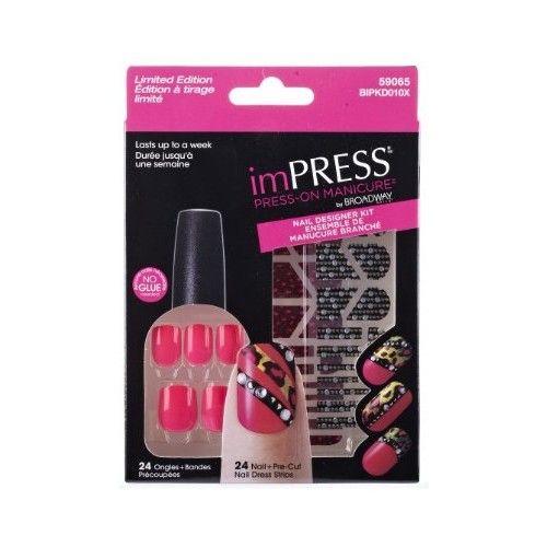 Limited Edition imPRESS Nail Designer Kits by Broadway Nails - 59065