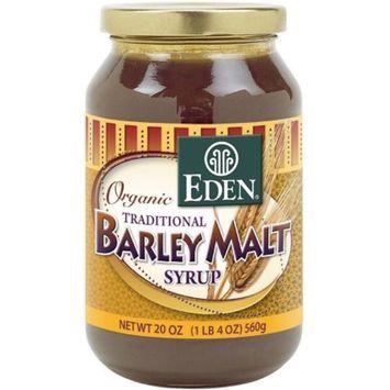 Eden Barley Malt Syrup, Organic, 20 Ounce (Pack of 6)
