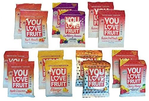 You Love Fruit Organic Variety Pack (2 of Each Flavor)