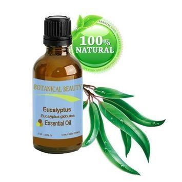 Botanical Beauty Eucalyptus Essential Oil, 100% Pure, Steam Distilled, 0.33 oz-10 ml
