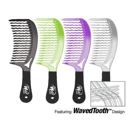 Wet Brush Detangling Hair Comb - Metallics Collection (Colors May Vary)