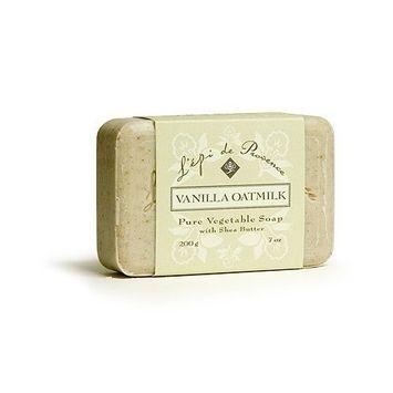 L'Epi de Provence Shea Butter Bath Soap - Vanilla Oatmilk - 7oz.